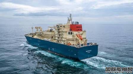 沪东中华第二艘18600方LNG加注船完成气试