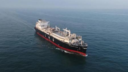 沪东中华正式交付Dynagas首艘LNG-FSRU