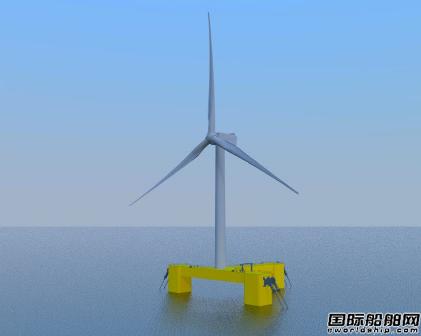 三星重工海上风电浮体结构设计获DNV认证