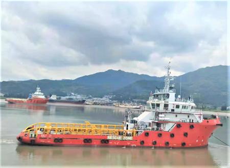 福宁重工交付一艘59M操锚供应船