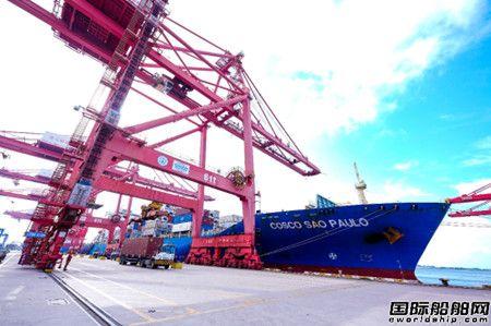 中远海运携手徐工开创中国工程机械行业出口新纪录