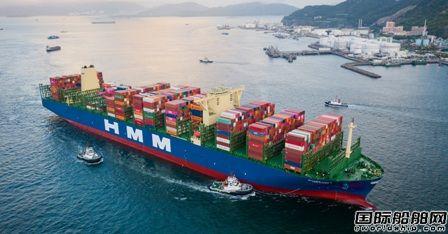 赚翻了!HMM新建20艘超大型集装箱船满载率超96%