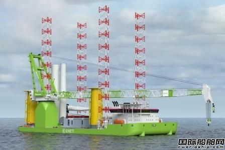 Huisman将为大宇造船风机安装船交付绕桩式起重机