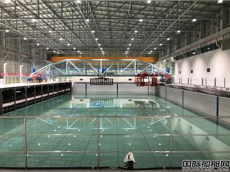 全球最大深海工程水池亮相!韩国首次完成FPSO模型水池试验
