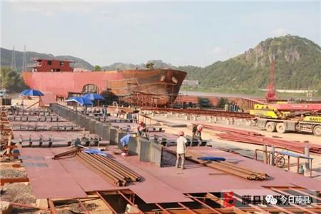 上半年藤县造船业总产值达6.6亿多元同比大增