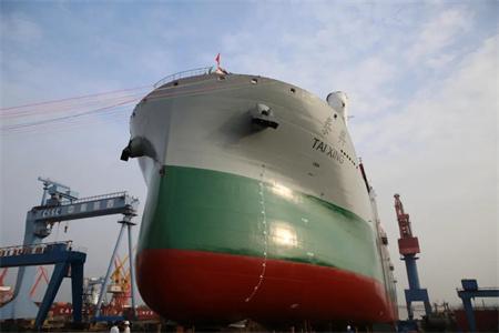 中船澄西为中波公司建造首艘62000吨多用途重吊船下水