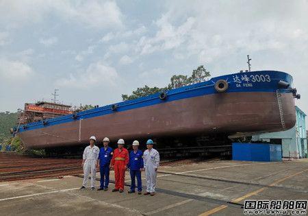 中船广西7月份完成16个大节点生产热潮持续高涨