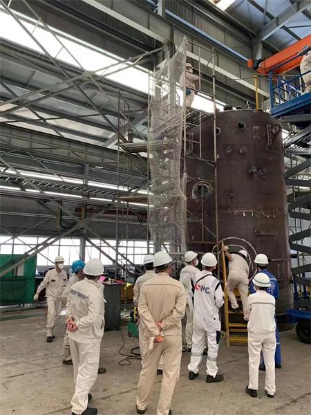 南通远洋配套首套船用锅炉产品通过船级社及船东FAT验收