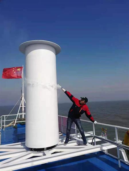 叠风旋筒风帆系统获LR国内首个原则性认可