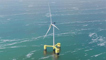 斗山重工着手开发韩国型浮式海上风电系统