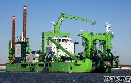 全球最强大绞吸式挖泥船正式交付运营