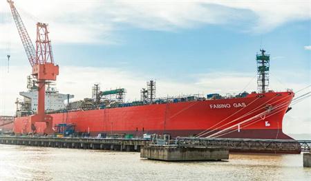 舟山中远海运重工完成今年首艘LPG船修理改装工程