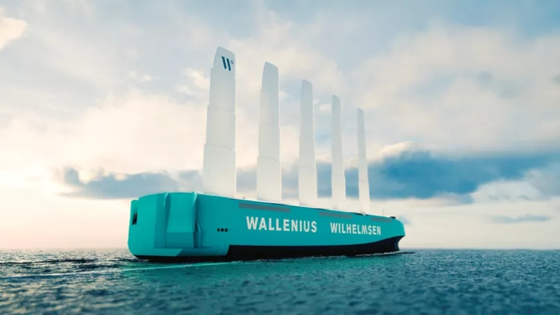 全球最大风帆动力货船是如何诞生的?