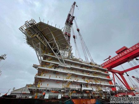 创下多个中国之最!外高桥海工上建建造取得新突破