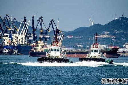 山东港口内部首单船舶交易服务业务顺利完成