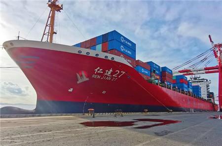 中联航运在南沙开辟美西TPC航线
