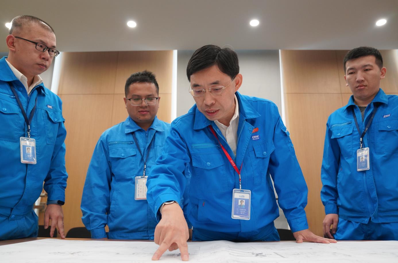 江南造船二氧化碳运输船研发团队专访