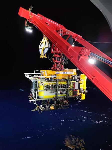 """七一二所全海深锂电池组助力""""思源号""""深海试验"""