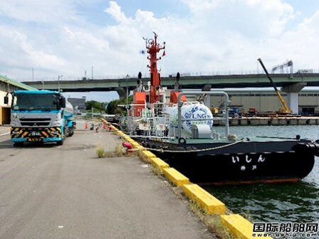 商船三井LNG动力拖船首次获得碳中和LNG燃料