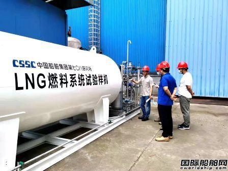 七�八所自主研发LNG燃料系统联调试验成功
