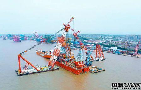 振华重工JSD6000深水起重铺管船完成多个里程碑节点