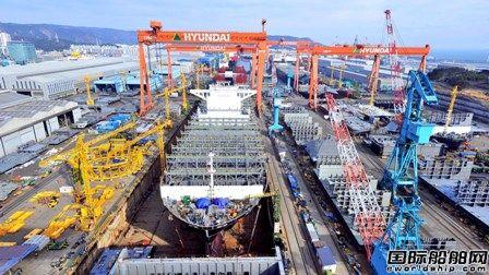 """中国领先优势缩小!韩国造船业连续四月""""霸榜"""""""