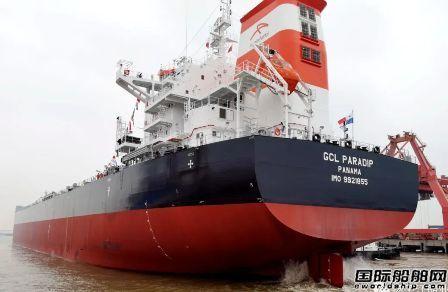 扬子江船业迎来交付潮!三厂区一周4艘船完工交付