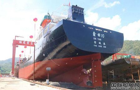 立新船舶再获鑫田海运四艘10800吨散货船订单