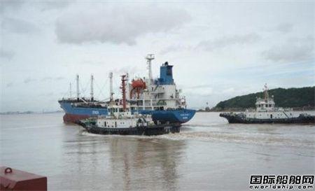 舟山各船厂做好在修在建船舶防台工作