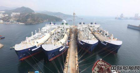 4艘超8亿美元!大宇造船提前完成全年接单目标