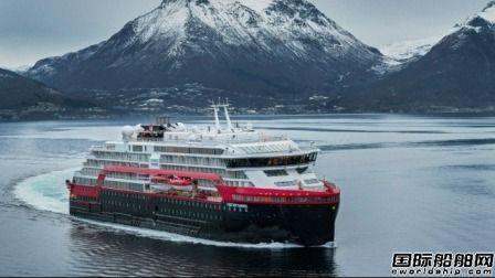 有史以来首次!这艘混合动力探险邮船在北极举行命名仪式