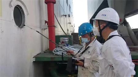 中国船级社签发首张船舶超声波渗漏检测供方认可证书
