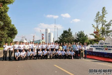 """第60艘!南通中远海运船务举行美森轮船""""塔科马""""轮完工庆典"""