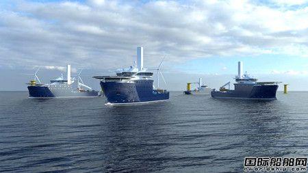 康士伯接单为2艘新造风电运维船配套永磁推进器