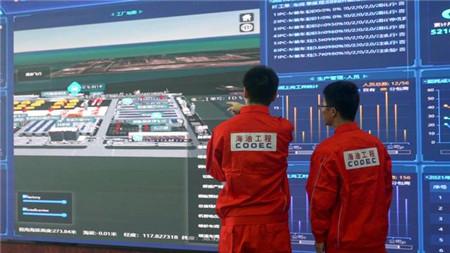 海油工程天津海洋工程智能制造基地一期工程机械完工