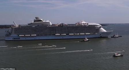 皇家加勒比旗下世界最大邮轮完成海试明年将首航