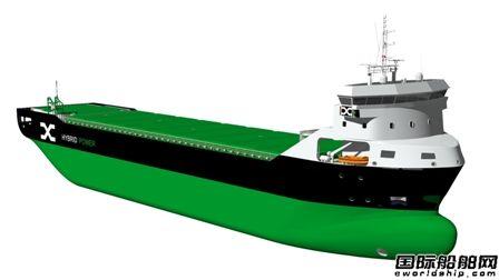 芬兰ESL子公司在印度订造6艘5350载重吨电动散货船