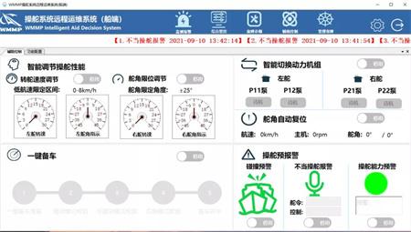 武汉船机首款舵机远程运维系统通过会检