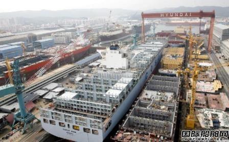 352亿美元!韩国三大船企提前完成全年接单目标