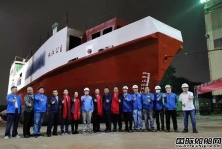 """凯力船艇交付160客位电动液压纯电帆船""""珠江公主""""号"""