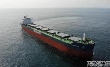 韩通船舶重工获2+2艘82000吨散货船订单